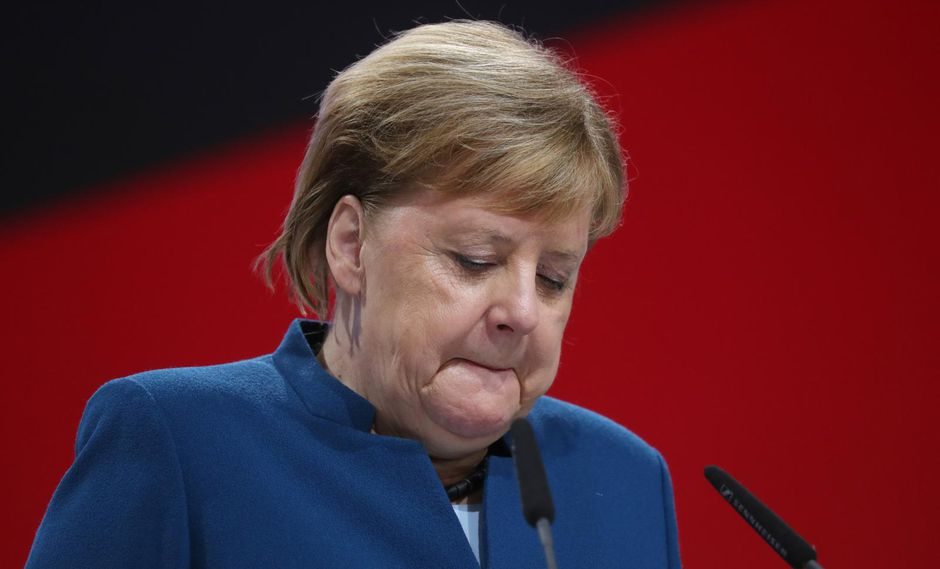 Angela Merkel. (Bloomberg).
