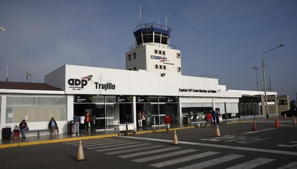 Aeropuerto de Trujillo. (Foto: GEC)
