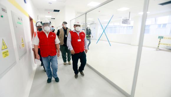 Contralor comprobó deficiencias en expediente técnico en proyecto del Hospital Regional Hermilio Valdizán Nivel III-3. (Foto: Contraloría)