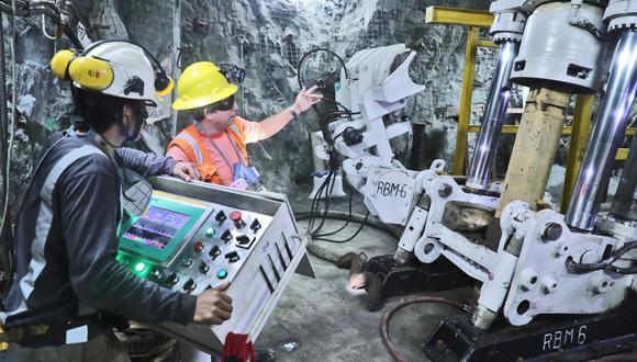 La minería aportó el 10% del PBI, el año pasado. (Foto: Difusión)