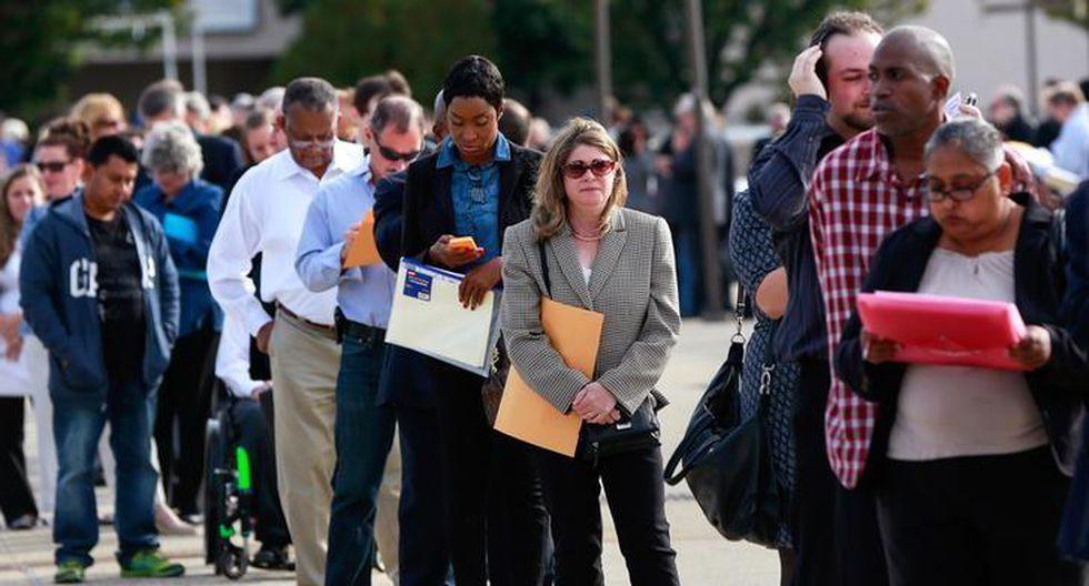 El Departamento de Trabajo informó que el promedio de solicitudes del seguro de desempleo en la últimas cuatro semanas llegó a una cifra récord de 1 millón. (Foto: Reuters)