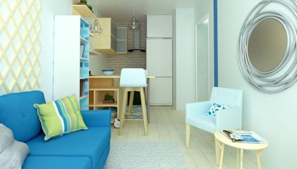 La casa es tan pequeña que dice que a menudo come de pie, ya que una silla o una mesa ocuparían mucho espacio. (Foto: Getty Images)