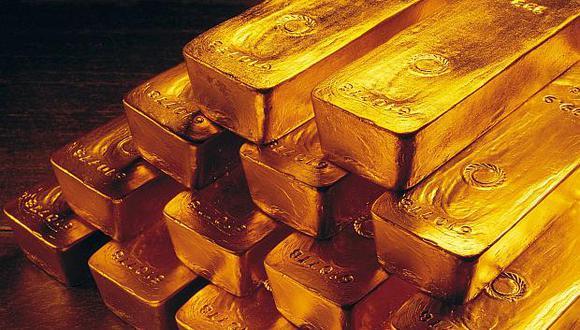Los futuros del oro en Estados Unidos avanzaban un 0.6%, a US$1,265.8 la onza. (Foto: AP)