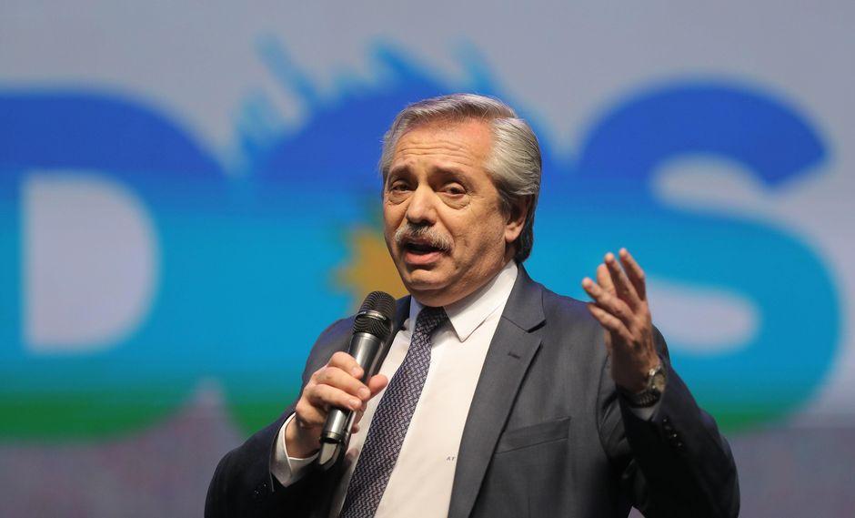 Alberto Fernández. (Foto: EFE)
