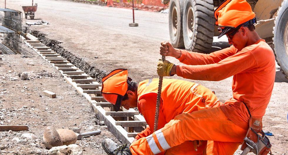 Entre las actividades que se considera de alto riesgo figura la del sector construcción (Foto: MTC).