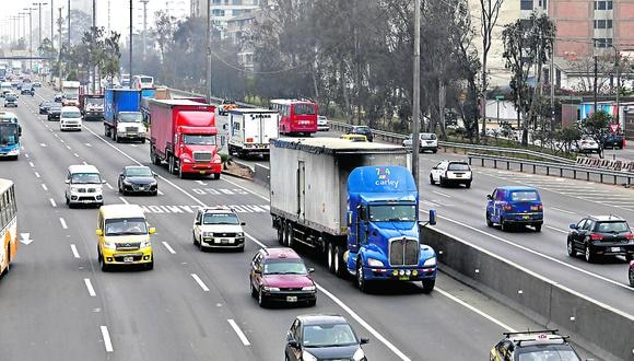 Transportistas de carga. Señalan que hubo acuerdo con la MML para facilitar carga de comercio exterior. (Foto: GEC)