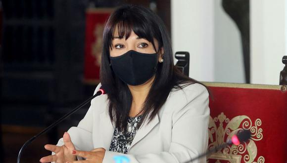 Presidenta del Congreso de la República, Mirtha Vásquez. Foto: Andina