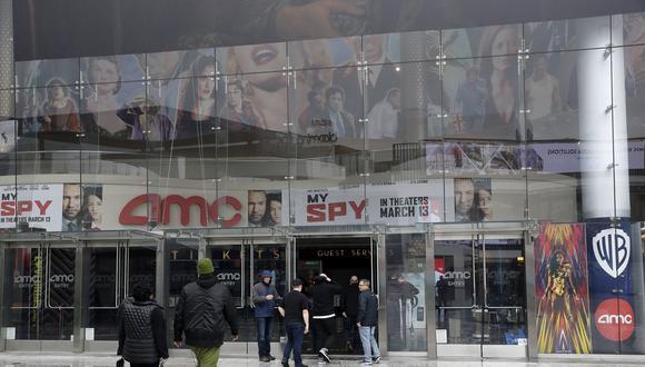 Cadena de cines AMC. (Foto: Difusión)