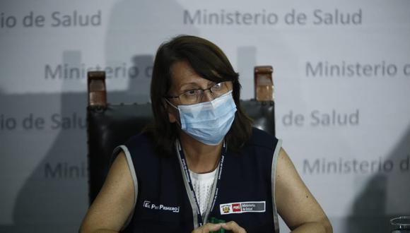 La exministra de Salud, Pilar Mazzetti ya envió su descargos sobre el caso 'Vacunagate' a la subcomisión. (Foto: GEC)