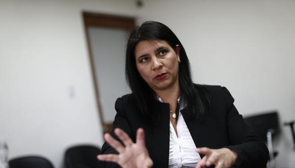 La procuradora ad hoc Silvana Carrión. (Foto: GEC)