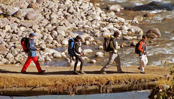 Unos 700,000 turistas extranjeros llegaron al Perú para realizar trekking en 2017. (Foto: GEC)