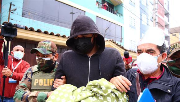 En la diligencia fiscal se intervino a nueve personas.  Fotos: César Grados /@photo.gec