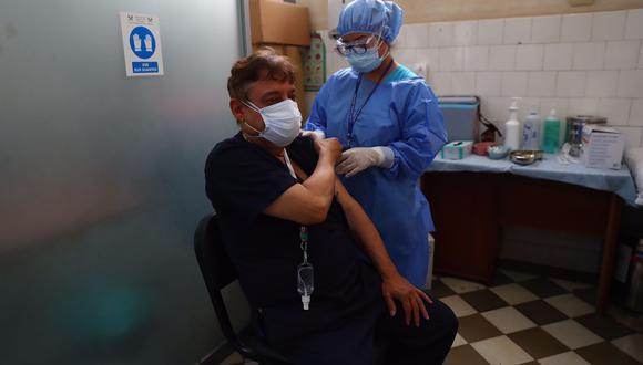 El primer país de la región en recibir las vacunas de Covax fue Colombia. (Fotos: Hugo Curotto / @photo.gec)