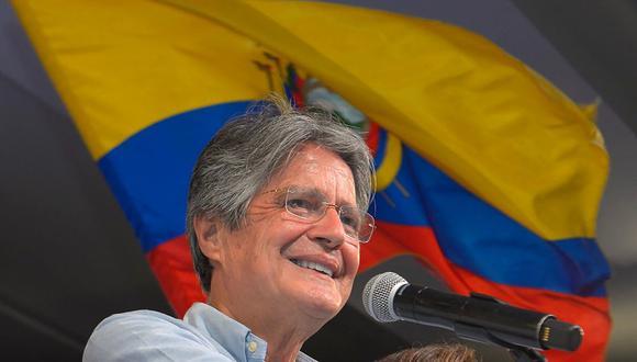 Guillermo Lasso asume la presidencia de Ecuador. (Foto: AFP)