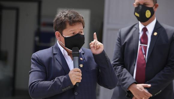 La congresista Patricia Chirinos acusó al jefe del Gabinete Ministerial, Guido Bellido, de agresión verbal. (Foto:  Britanie Arroyo / @photo.gec)