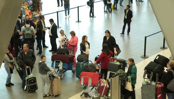 La mayor parte de las quejas y denuncias están relacionadas con la suspensión y cancelación de vuelos. (Foto: GEC)