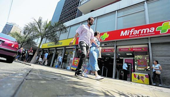 Discrepancias. Mientras el Minsa plantea que las farmacias privadas tengan un stock mínimo obligatorio de los medicamentos priorizados, el MEF cree que no debe existir tal obligación. (Foto: Hugo Perez)