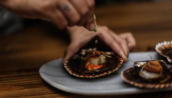 Conchas bravas. (Foto: Matria Restaurante)