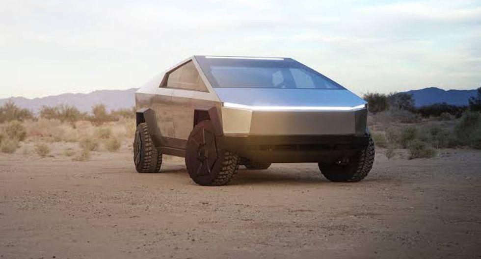 Tesla espera que la producción de Cybertruck comience cerca de fines del 2021. (Foto: Tesla)