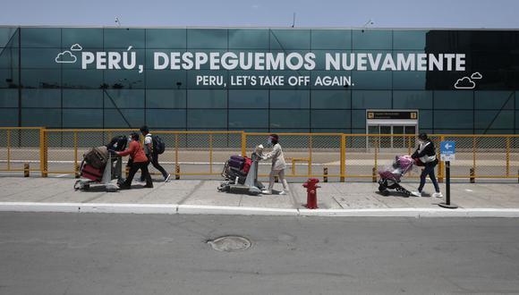 El aeropuerto ha registrado una reducción porcentual de pasajeros trasladados de 70.6% frente al mismo periodo de 2019. (Foto: Leandro Britto / GEC)