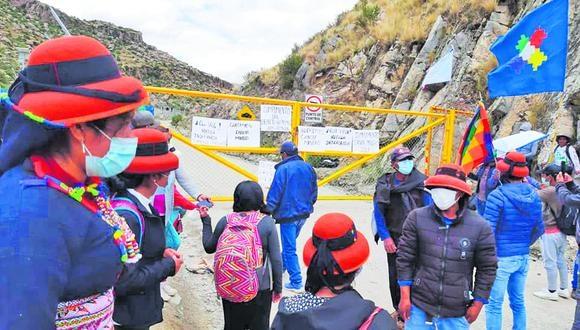Cusco: Pobladores de Velille dan tregua a minera MMG Las Bambas y desbloquean Corredor Minero del Sur mientras continúen las conversaciones.