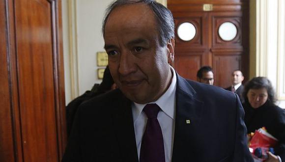 Jorge Acurio Tito, expresidente regional de Cusco, se entregó tras ser condenado a 4 años de cárcel efectiva. (Roberto Cáceres)