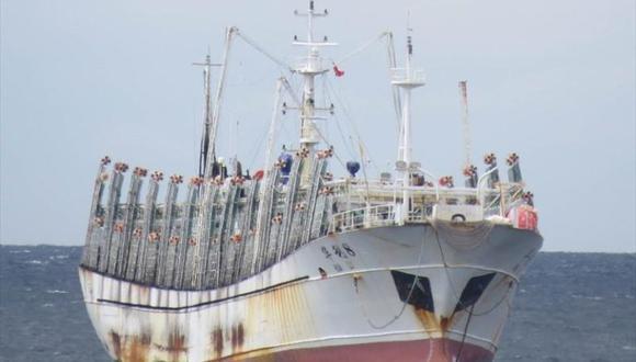 El  jefe de operaciones navales de la Armada del Ecuador indicó que los barcos chinos se desplazan hacia el sur. (Foto: referencial / Marine Traffic)