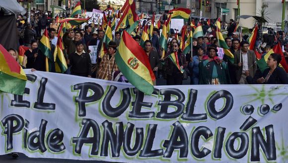 """Informe de la OEA sobre Bolivia concluye que hubo """"manipulación y parcialidad"""" en los comicios del 20 de octubre del 2019. (Foto: AFP)"""