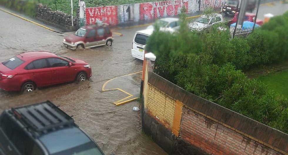 Senamhi pide a población y autoridades a tomar precauciones tras advertencia de intensas lluvias entre el 21 y 24 de febrero (foto: archivo)