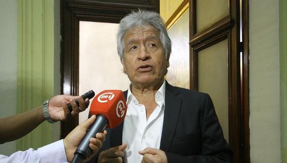 Virgilio Acuña había sido excluido el pasado 22 de diciembre por el JEE por no consignar un proceso penal en su declaración jurada. (Foto: GEC).
