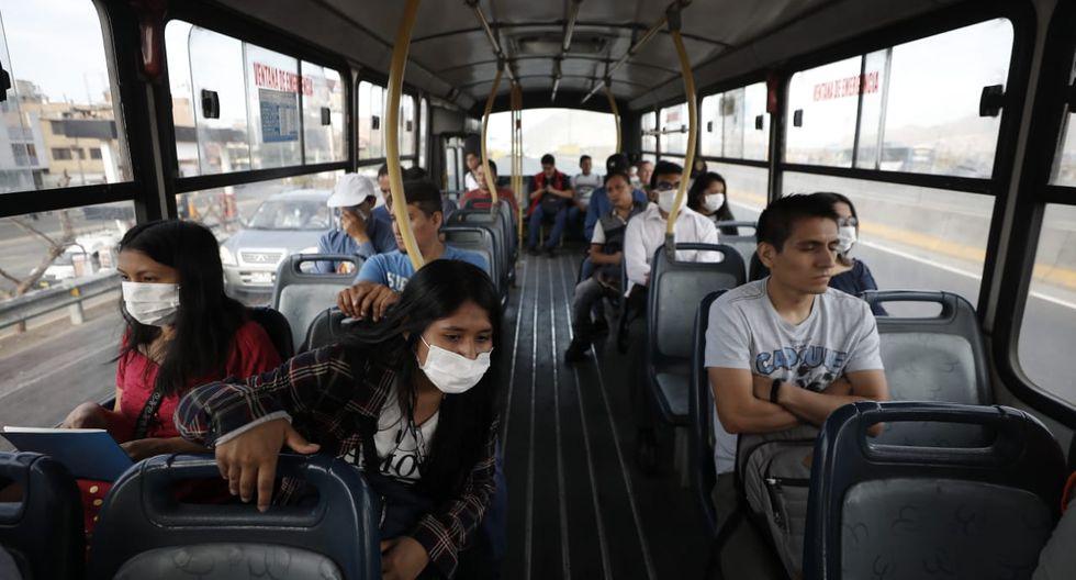 Vizcarra precisó que se hará fiscalización respecto al uso de los protectores faciales en el transporte público. (Foto: GEC)