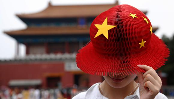 China se llevó el 95% de los flujos netos hacia la renta variable el mes pasado, con US$ 13,500 millones de un total de US$ 14,200 millones. (Luke MacGregor/Bloomberg)