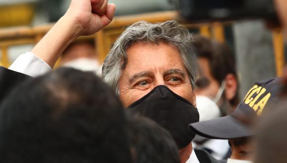 Francisco Sagasti se refirió al Presupuesto General de la República para el próximo año. (Foto: Alessandro Currarino / @photo.gec)