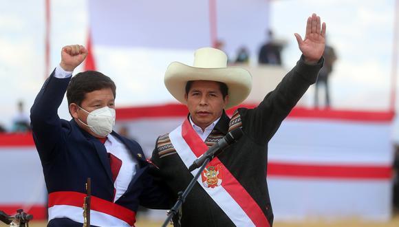 Guido Bellido juró al cargo de primer ministro el último jueves 29 de julio en Ayacucho. (Foto: Presidencia Perú)