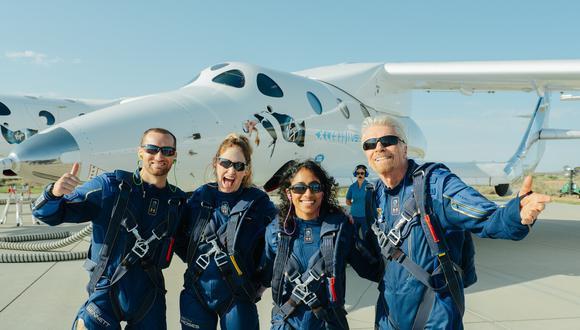 Richard Branson, el multimillonario que llegó al espacio en su propia nave. (Foto: Virgin Galactic)
