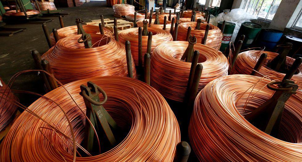 El cobre referencial a tres meses se encaminaba a su novena sesión consecutiva de declives. (Foto: Reuters)