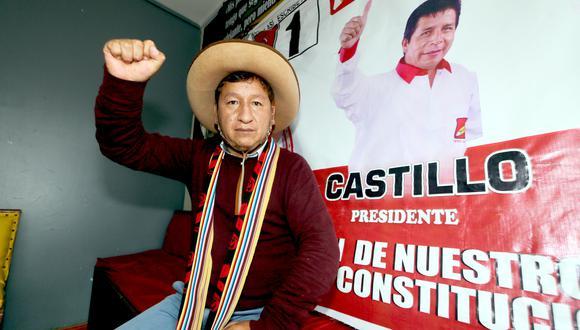 Congresista electo Guido Bellido se refirió a las declaraciones de Verónika Mendoza sobre Vladimir Cerrón. (Foto: Juan Sequeiros / GEC)