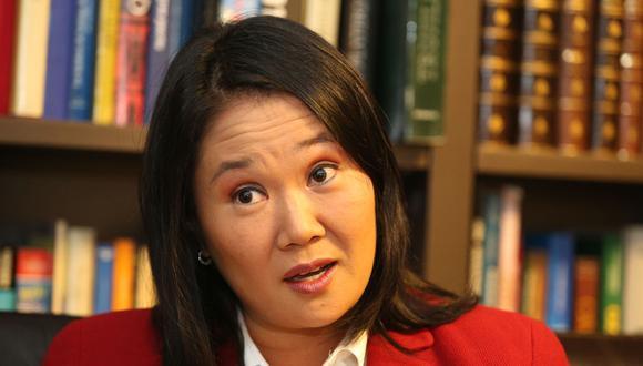 """Keiko Fujimori reconoció que le """"falta cerrar un capítulo"""" con su hermano Kenji, pero se excusó de comentar las """"discrepancias"""" que aún mantiene con el procesado exlegislador. (Foto: GEC)"""