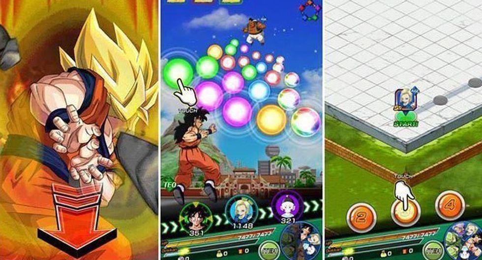 FOTO 10   Dragon Ball Z: Dokkan Battle. Este videojuego creado para dispositivos móviles está basado en aventuras de los personajes de la saga Dragon Ball. Su desarrollador es Akatsuki y fue lanzado en enero de 2015. Ingresos generados: US$ 1.902.168,14