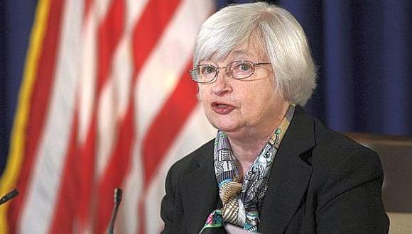 """Janet Yellen, actual presidenta de la Fed, fue criticada en el pasado por los republicanos por ser """"demasiado lenta en elevar las tasas"""". (Foto: AP)"""
