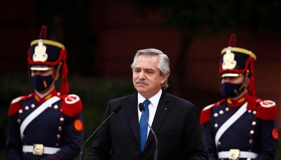Presidente Alberto Fernández. (Foto: Bloomberg)