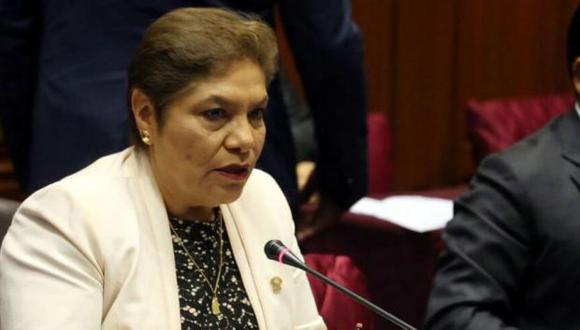 Luz Salgado, congresista de Fuerza Popular. (Foto: USI)
