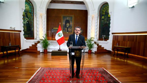 Manuel Merino de Lama renunció a la Presidencia de la República este domingo tras las protestas que dejaron dos muertos. (Foto: Presidencia)