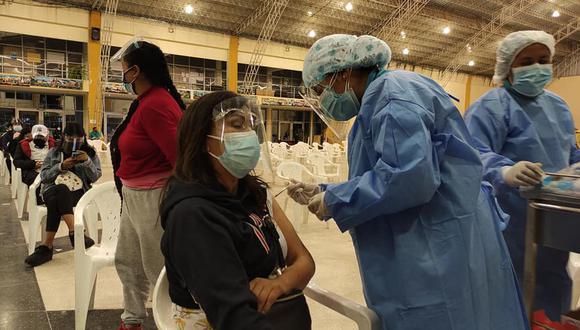 La cobertura de vacunación sigue siendo baja en Junín, en comparación con otras regiones. (Foto: Diresa Junín)