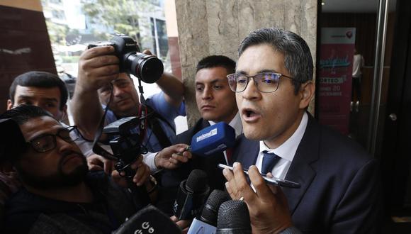 El fiscal José Domingo Pérez dijo que el fallo del TC sobre Keiko Fujimori puede ser declarado nulo fácilmente. (Foto: Violeta Ayasta)