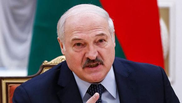 """El presidente autoritario del país, Alexander Lukashenko, ha prometido continuar lo que describió como una """"operación de limpieza"""" contra activistas de la sociedad civil a los que tachó de """"bandidos y agentes extranjeros"""". (Foto: AFP)"""