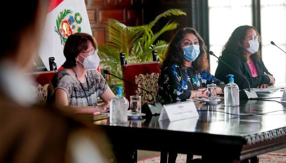 Diversos congresistas criticaron las gestiones de la ministra Pilar Mazzetti, y de la jefa del Gabinete Ministerial, Violeta Bermúdez. (Foto: Andina)