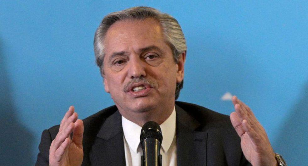 Alberto Fernández. (Foto: AFP)