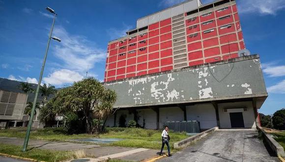 Fotografía del 15 de enero del 2021 donde se observan las instalaciones de la Universidad Central de Venezuela (UCV), en Caracas (Venezuela). (Foto: EFE/MIGUEL GUTIERREZ)