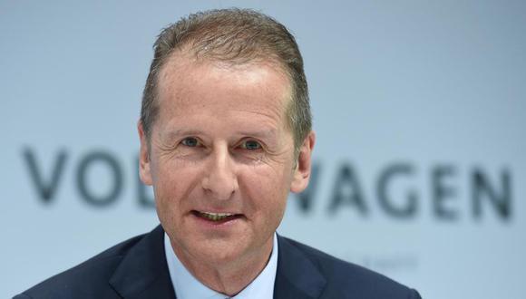 Herbert Diess, director ejecutivo de Volkswagen AG.
